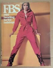 FBS French Boot Shop Catalog. Holiday Season 1980. Fashion and Gifts. Very Good.