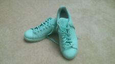 Mint Green Adidas Stan Smith Sneakers Leather Women's 10 Men's 8.5 Rare Original