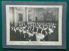 Antique Victorian Photo 1st Life Guards Club Annual Dinner 1906 Hotel Metropole