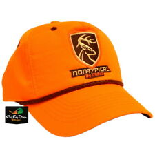 NEW DRAKE WATERFOWL NON TYPICAL FIVE PANEL BALL CAP HAT BLAZE ORANGE