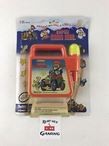 Vintage Nintendo Super Mario Bros AM Radio w Sing A Long Microphone Playtime