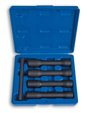 WHEEL NUT REMOVER SET 17, 19, 21, 22MM X long 150MM 4PC LASER TOOLS