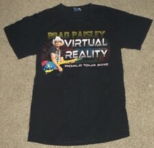 Brad Paisley Virtual Reality Tour Concert 2012 Country T-Shirt Size Small S
