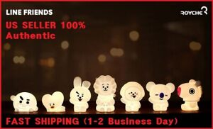 BTS x BT21 Official Inspired Characters LED Mood Lamp 6 Colors Portable Remote
