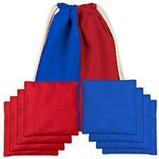 Play Platoon Premium Weather Resistant Duckcloth Cornhole Bags - Set of 8
