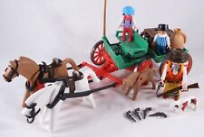 PLAYMOBIL VINTAGE 3804 WESTERN BUCKBOARD ANNIE OAKLEY-COLLECTOR-COMPLETE-EXCEL!