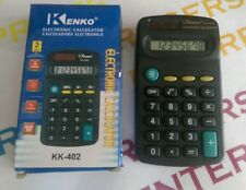 Kenko KK-402 Ligero Tamaño Mini Bolsillo práctico Calculadora de 8 dígitos-Nueva En Caja