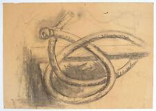 Brigitte Matschinsky-Denninghoff (1923-2011), Bleistift/Kohle, 1955, signiert