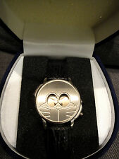 Doratch Doraemon Watch Limited Edition 1998 Japan Leather Band Rare New w/Tag