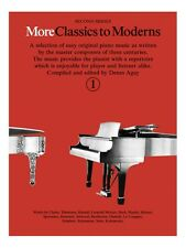 More Classics To Moderns 1 Learn to Play Present Gift MUSIC BOOK Piano