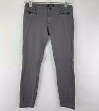 bebe Womens Gray Stretch Skinny Crop Rocker Pants Size XS