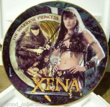 """XENA LIMITED EDITION CHINA COLLECTOR PLATE - """"AMAZON XENA"""" #56 OF 500"""
