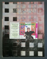 Paul McCartney The World Tour 1989 Original Tourbook + Ticket Dortmund Beatles