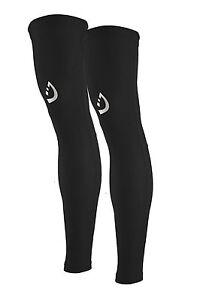 Leg Warmer UV Sun Protection Non Slip Cycling Running Outdoor Unisex Leg Sleeves