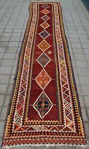 room decor rectangle kelim rug handmade kilim large runner decorator rug 4X24ft