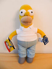 "NEW Russ Applause The Simpsons Homer Beanbag 9"" Plush Doll"