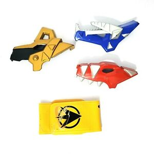 3 Plates and 1 Strap for Bandai Power Rangers Dino Thunder Morphers