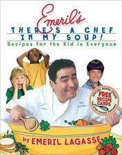 Emeril Lagasse~EMERIL'S THERE'S A CHEF IN MY SOUP~SIGNED 1ST/DJ~NICE COPY