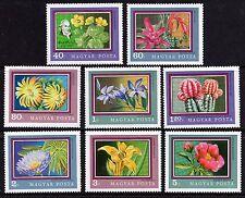 Hungary 1971 Flowers Botanical Gardens Set of 8 SG2612-9 Unmounted Mint FREEPOST