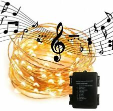Waterproof LED String Lights Sound Activated Music Sync Christmas Party Deco UK