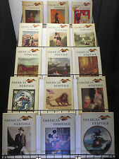 American Heritage Hard Cover Mini Library 32Diff 1960-1971 Our Eclectic History!