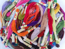 50 Art Silk/Rayon Stranded Skeins Embroidery Thread, Great Item