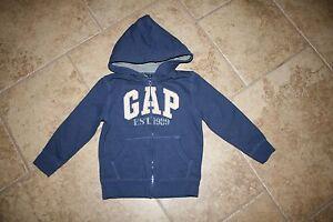Boy's Gap Hoodie Sweatshirt Jacket Size 5T EEUC