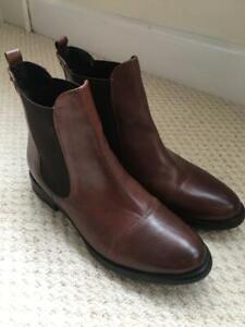 Jones ladies free flex dark brown Chelsea boots UK size 6