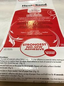 Heat n Bond Ultra Hold by  1 Metre Piece - non sewable strong adhesive sheet