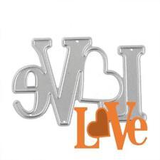 Love Sentiment Metal Cutting Die,Word,Stencil,Crafts,Card Making,Scrapbooking