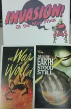 Loot Crate Invasion of the Mini Prints: War of the Worlds, Day Earth Stood Still