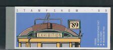 Australia 1989 Streetcars Booklet complete w/admission ticket (Scott 1156b) Mnh