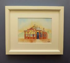 "Original Framed Watercolour ""Donnybrook Post Office"" Western Australia"