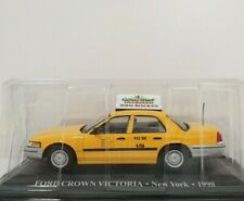 Taxi New York City 1:48 NYC Cap voiture miniature métal Ford Crown Victoria Neuf rt8948