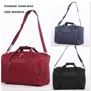 New Ryanair Carry On 40x25x20 cm BAG Under Seat Flight Cabin Travel Bag Holdall