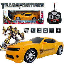 1:16 BUMBLEBEE ELECTRIC RC RADIO VEHICLE REMOTE CONTROL CAR TRANSFORMERS KID TOY