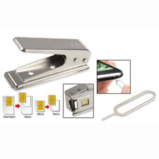Nano SIM Card Cutter For iPhone 5 5S 5C 5th Adapters for Regular Micro To Nano