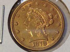 2 1/2 Dollar 1878 USA Gold (#D79#)