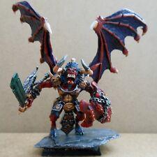 1999 Chaos Blood thirster Greater Daemon de Khorne Citadel pro painted demon 40K