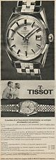 J0473 Orologio TISSOT Visodate - Pubblicità - 1962 Vintage Advertising