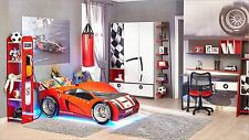 Autobett Komplettzimmer Forsage  Kinderzimmer Kinderbett Spielbett Bett 80 x 160