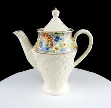 "ERPHILA BRIGHTON #170/1 CHEERY CHINTZ EMBOSSED RARE SMALL MINI 6 1/8"" COFFEE POT"