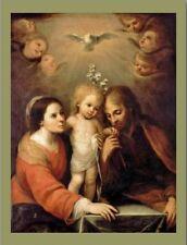 """""""The Holy Family...Sagrada Familia""""  ..'Postcard' (B-405)"""