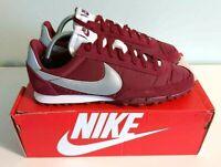 Nike Waffle Racer Red Trainers / Shoes - Size 8 UK Daybreak Tailwind