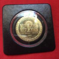Las Vegas Dollar Gaming Token NEW YORK NEW YORK Casino 96 Plastic Case Mk Offer!