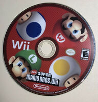 New Super Mario Bros. Wii (Nintendo Wii, 2009) DISC ONLY - TESTED