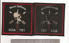 #325 SPECIAL FORCES ODA 751 PATCH