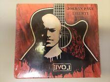 Liberty [Digipak] by Jordan Page (CD, 2011, Revelushun Records)- NEW/SEALED