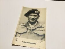 Post Card Fieldmarshall Montgomery