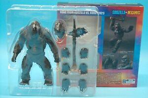 """S.H.MonsterArts Kong From Godzilla vs Kong 2021 Figure Bandai Japan Release 6"""""""